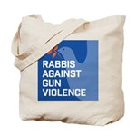 rabbis against gun violence Tote Bag