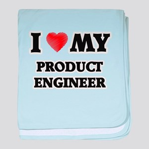 I love my Product Engineer baby blanket