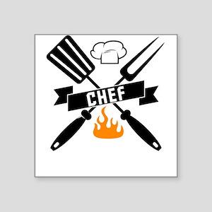 Barbeque BBQ Chef Sticker