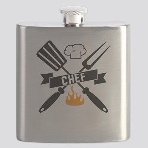 Barbeque BBQ Chef Flask