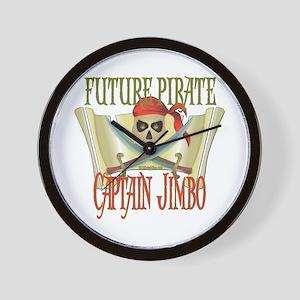 Captain Jimbo Wall Clock