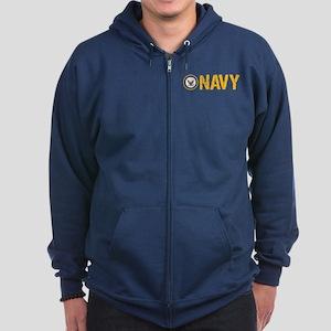 U.S. Navy: Navy Zip Hoodie
