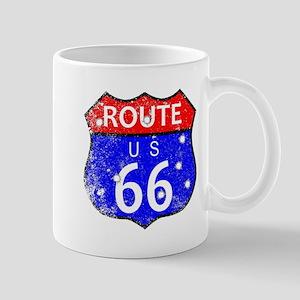 Route 66 Bullet Holes Mugs