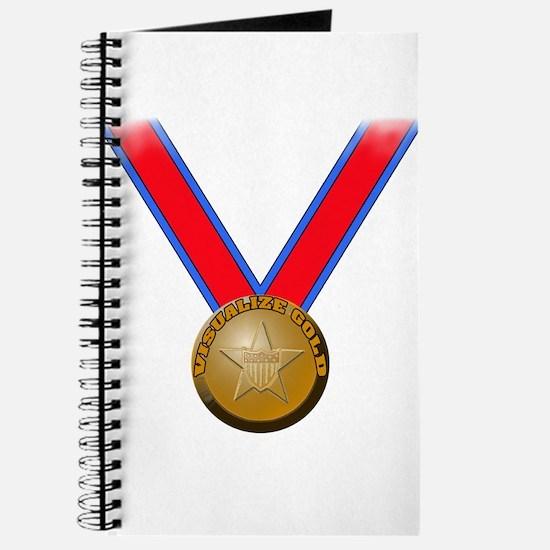 Visualize Winning Gold Journal