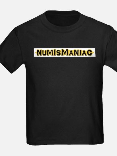 Numismaniac Ash Grey T-Shirt