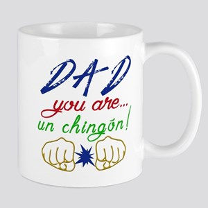 Dad is a chingon! Mugs