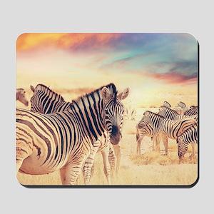 Beautiful Zebras Mousepad