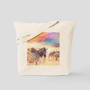 Beautiful Zebras Tote Bag