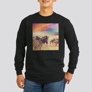 Beautiful Zebras Long Sleeve T-Shirt