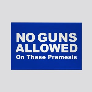 No Guns Allowed Magnets