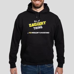 ZACKERY thing, you wouldn't understa Hoodie (dark)