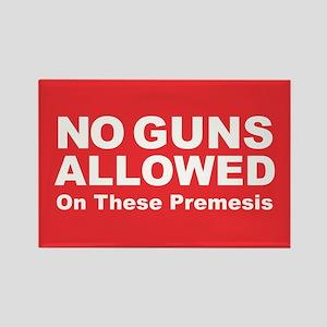 No Guns Allowed Magnets