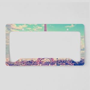Eiffel Tower License Plate Holder