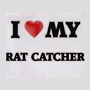 I love my Rat Catcher Throw Blanket