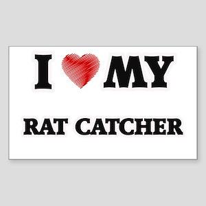 I love my Rat Catcher Sticker