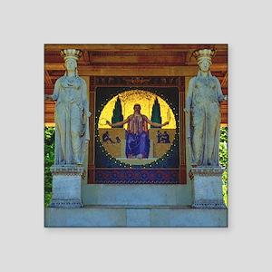 "Peace Pavillion Munich Square Sticker 3"" x 3"""