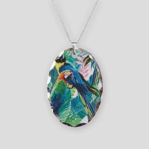 Colorful Parrots Necklace
