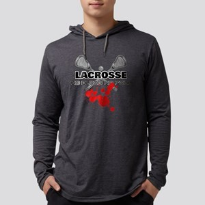 Lacrosse No Blood No Fou Long Sleeve T-Shirt
