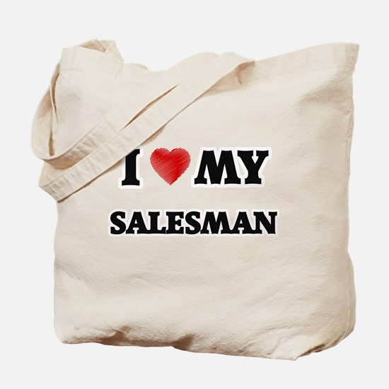 I love my Salesman Tote Bag