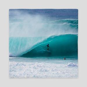 Surfer Banzai Pipeline Queen Duvet