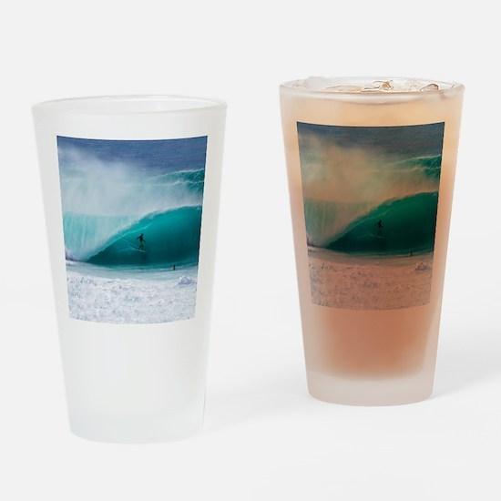 Surfer Banzai Pipeline Drinking Glass