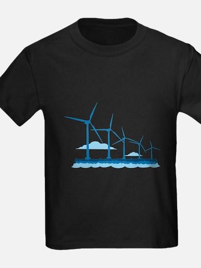 Offshore Wind Farm T-Shirt