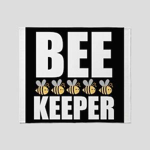 Bee Keeper Throw Blanket