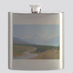Mount Cook Highway NZ Flask