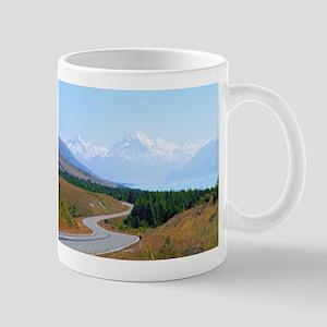 Mount Cook Highway NZ Mugs