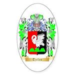 Tjellen Sticker (Oval 50 pk)