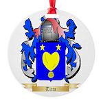 Titta Round Ornament