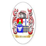 Tirado Sticker (Oval 50 pk)