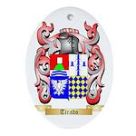 Tirado Oval Ornament