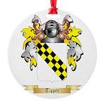 Tipper Round Ornament