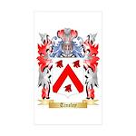 Tinsley Sticker (Rectangle 50 pk)