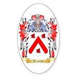 Tinsley Sticker (Oval 50 pk)