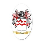 Tindle Oval Car Magnet