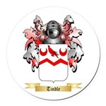 Tindle Round Car Magnet