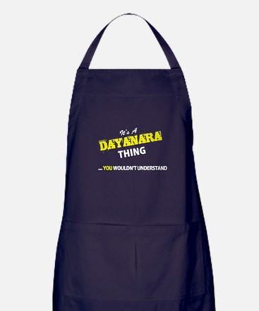 DAYANARA thing, you wouldn't understa Apron (dark)
