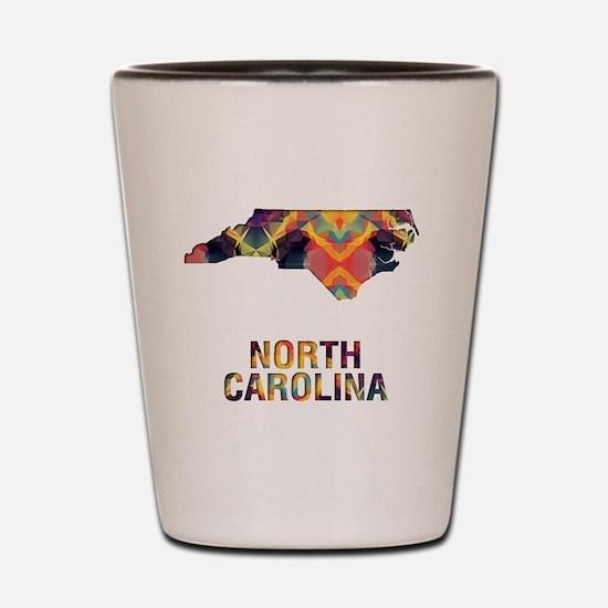 Cute North carolina Shot Glass