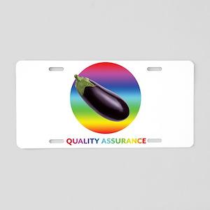 Rainbow Eggplant Quality As Aluminum License Plate