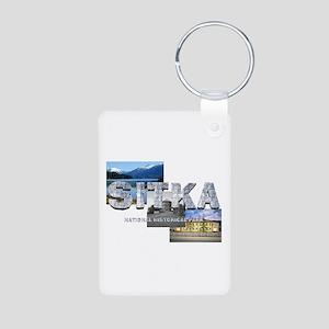 ABH Sitka Aluminum Photo Keychain