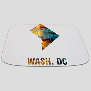 Mosaic Map WASHINGTON DC Bathmat