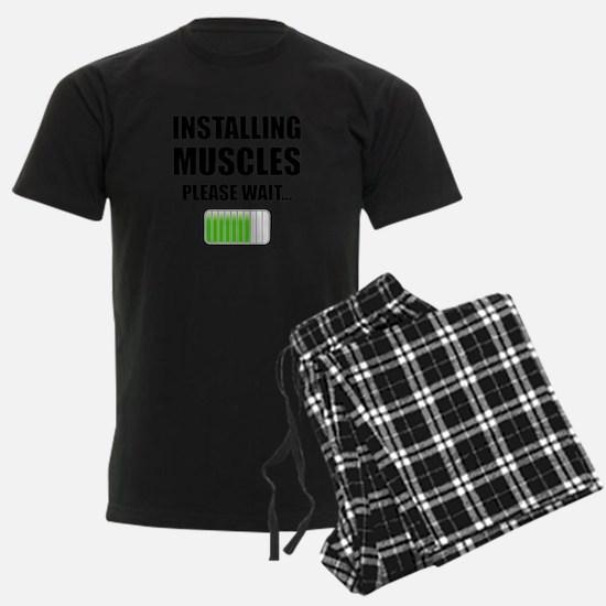 Installing Muscles Please Wait Pajamas