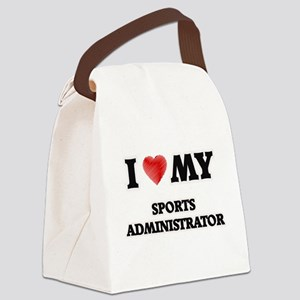 I love my Sports Administrator Canvas Lunch Bag