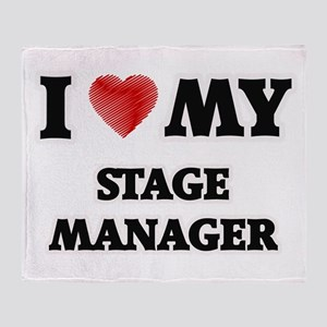I love my Stage Manager Throw Blanket