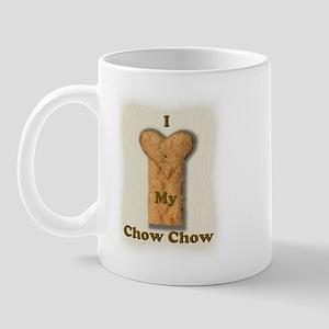 Love My Chow (real) Mug