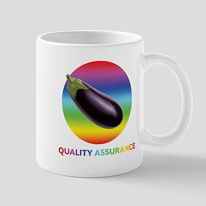 Rainbow Eggplant Quality Assurance Mugs