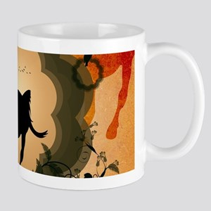Wonderful black horse Mugs