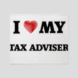 I love my Tax Adviser Throw Blanket